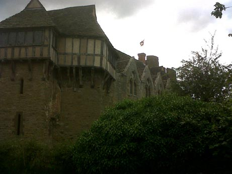 Stokesay Castle outside 1
