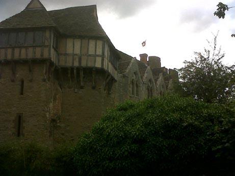 Stokesay Castle outside 1