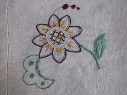 Flower cloth
