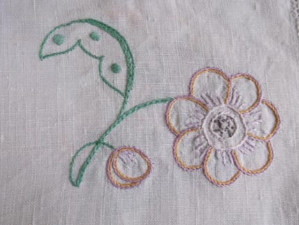 Flower cloth 4