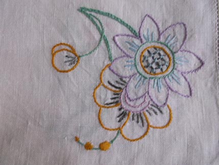Flower cloth 5