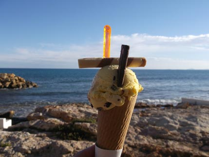 Spain Nov ice cream