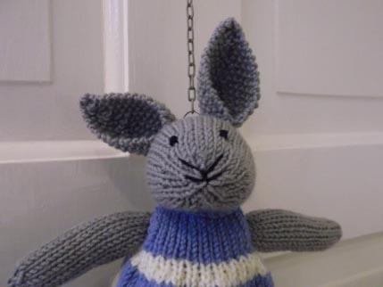 Lucy Bunny head