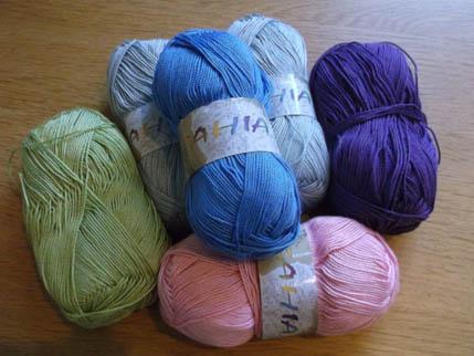 New bunny wool