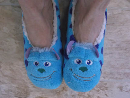New Sully slippers