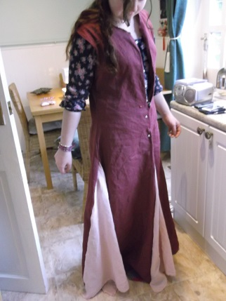sewing weekend - ellie in dress