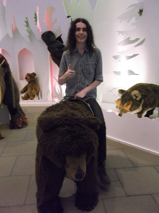 Bavaria 2014 Jake with bear