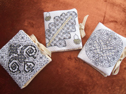blackwork needlebooks