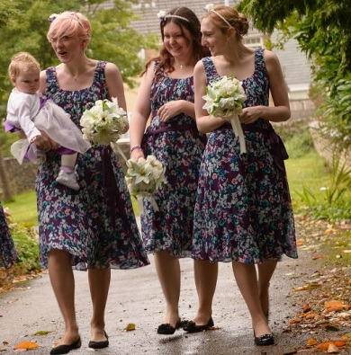 Ellie bridesmaids