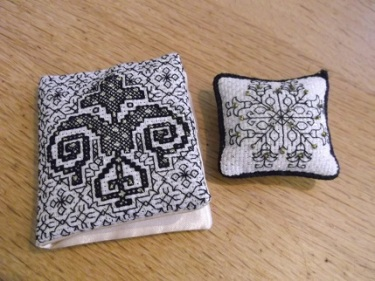 Kerry's blackwork needlebook