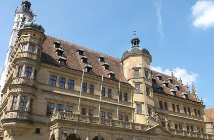 Bavaria 2014 Rotenburg town hall