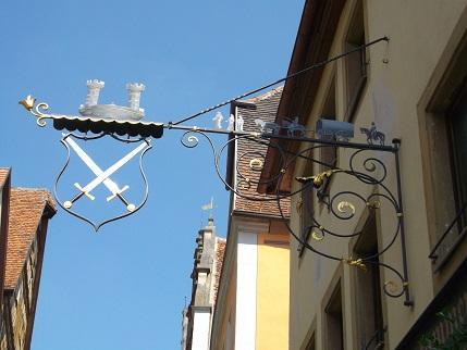 Bavaria 2014 Rotenburg weapons sign
