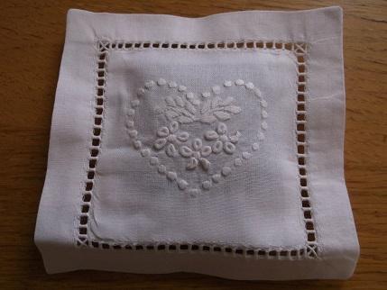 Bavarian needlework -whitework