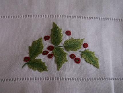 Bavarian needlework -xmas cloth