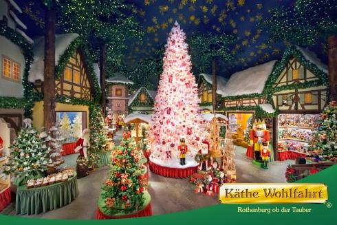 Christmas shop Rothenburg