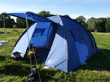 Tatton new tent