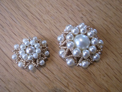 Brooches and beads
