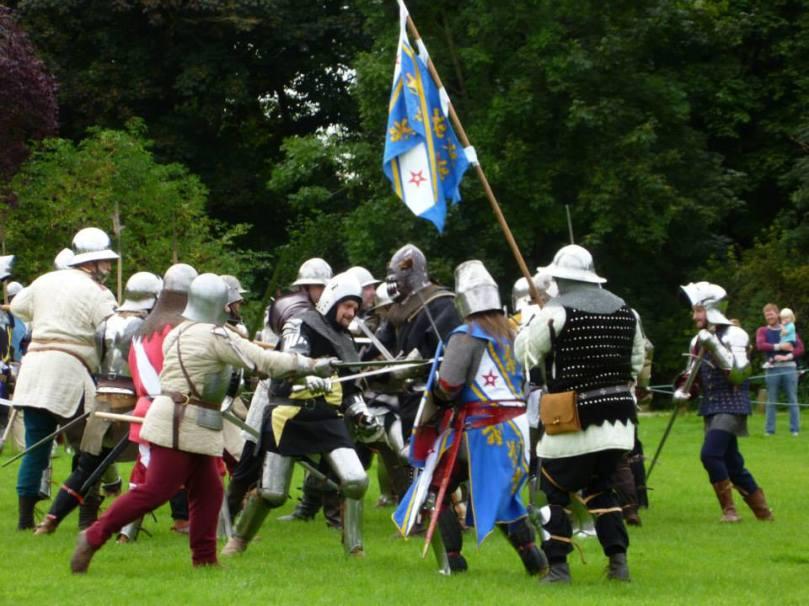Caldicot - battle