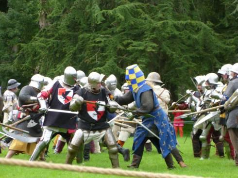 Caldicot - battle 2
