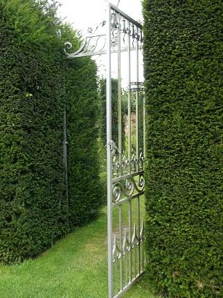 Hampton Court  -gardens