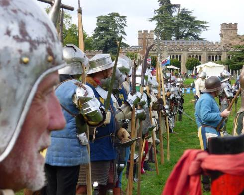 Hampton Court battle