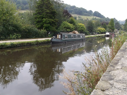 Hebden Bridge - canal