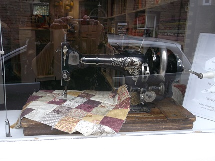 Hebden Bridge quilt shop