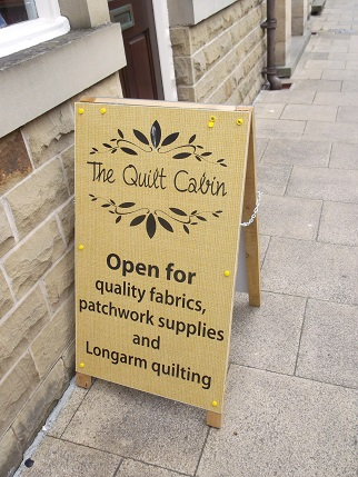 Hebden Bridge - quilt shop 2