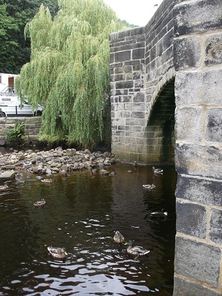 Hebden Bridge - river 2