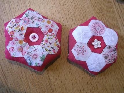 Hexi pincushions