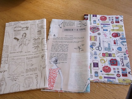 Quilt fabric - sewing patterns 1