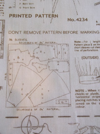 Quilt fabric - sewing patterns 2