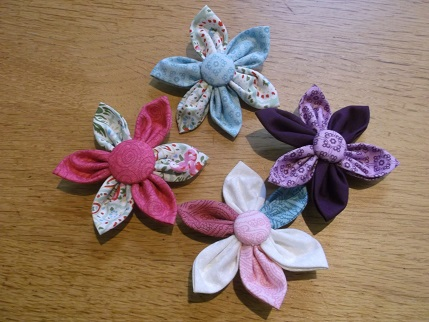 Sewing weekend - brooches