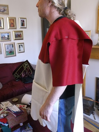 Sewing weekend - Jamie tabard