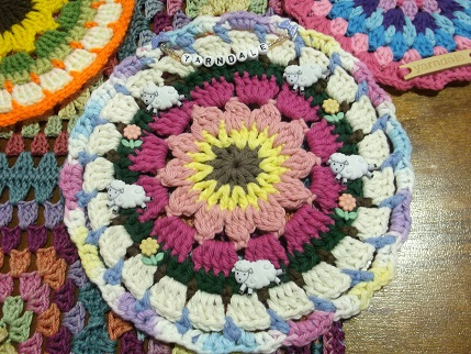 Yarndale 11 - mandala close up