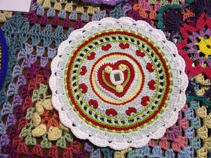 Yarndale 13 mandala close up