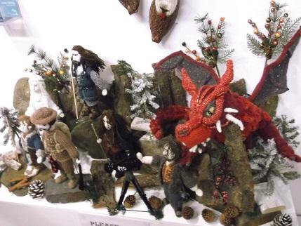 Harrogate 2014 Knitting exhibit 3