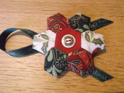 Sewing day Nov - hexi ornie