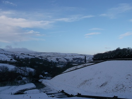 Snow at Butterley 4