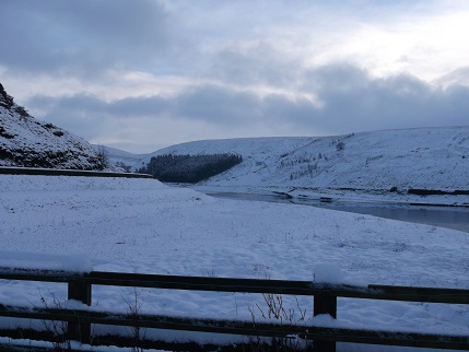 Snow at Butterley