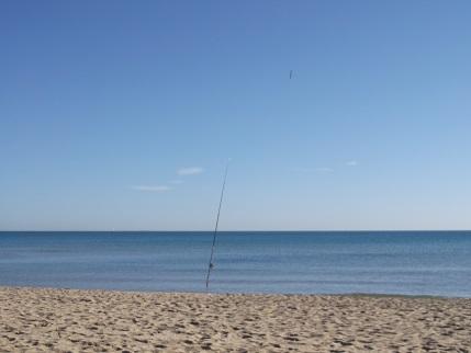 Spain New Year beach