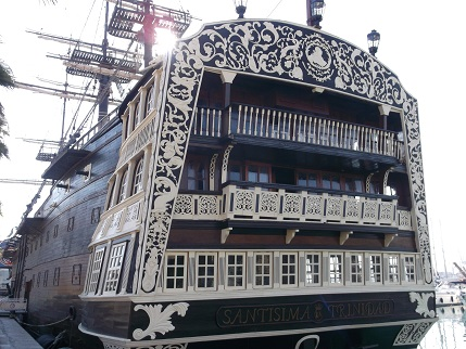 Spain New Year Galleon 2