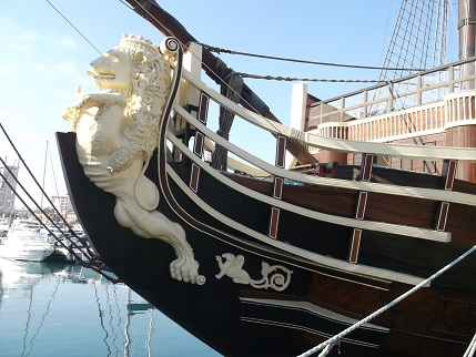 Spain New Year Galleon 5