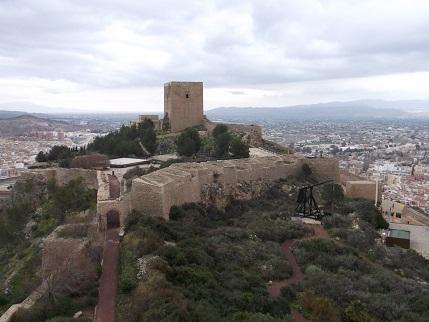 Lorca castle 1