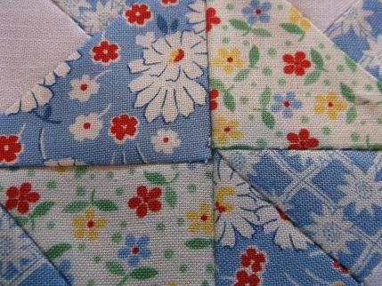 Quilt blocks Moda charm squares 3