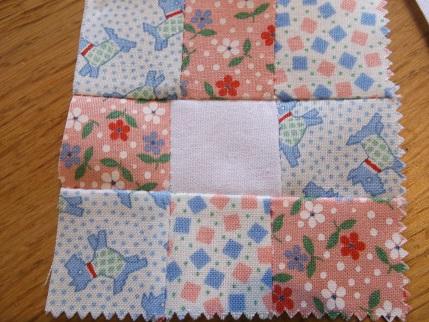 Quilt blocks  Moda charm squares 4