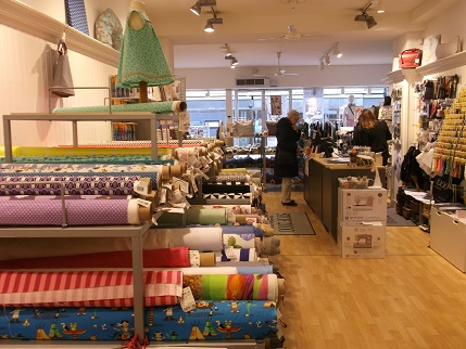 Copenhagen Fabric shop