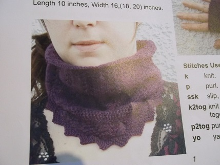 Knit for winter 2 cowl