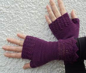 Knit for winter 4- mitts