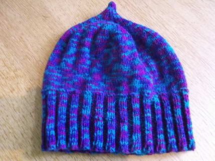 Knit for winter-beanie